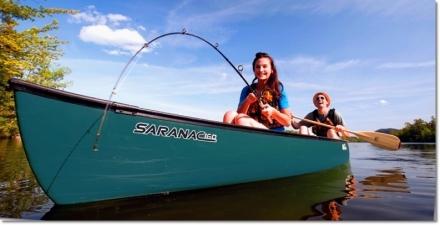 Old Town Saranac Canoe - Innerspace Watersports Kelowna Vernon BC